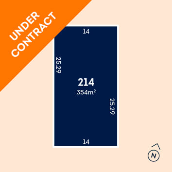 Lot 214 - under contract