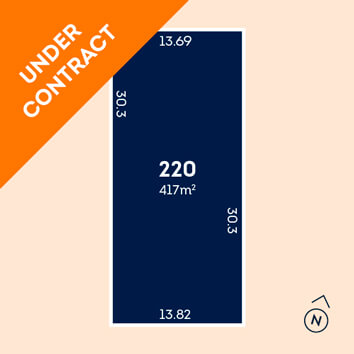 Lot 220 - under contract