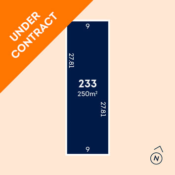 Lot 233 - under contract
